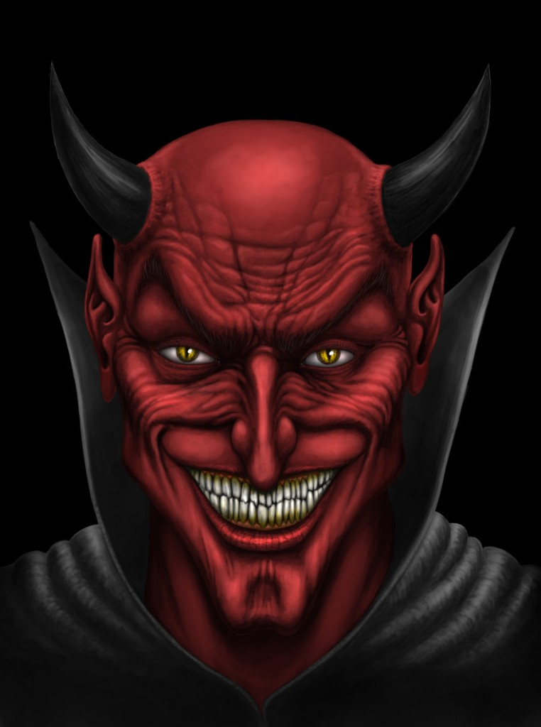 Face of the Devil - andrewdobell.deviantart.com