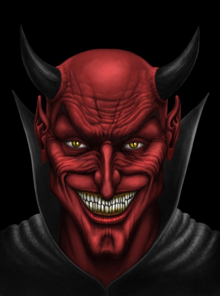 Face of the Devil - andrewdobell.deviantart.com