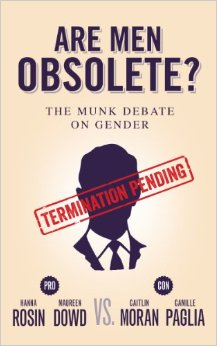 "Poster for the Munk debate, ""Are Men Obsolete?"""