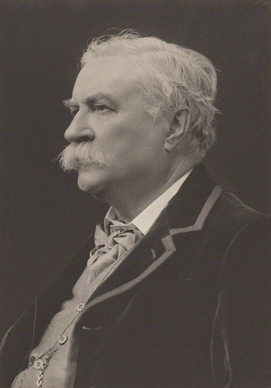 NPG Ax39123; Ernest Belfort Bax by Walter Stoneman, for James Russell & Sons