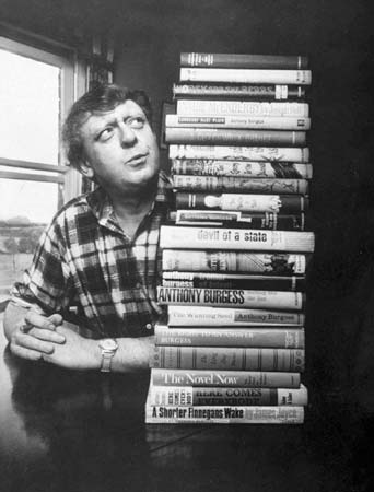 A Clockwork Orange author Anthony Burgess.